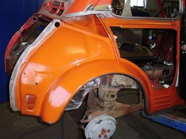 Restauration Fiat 500
